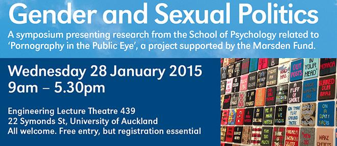 Gender and Sexual Politics Symposium